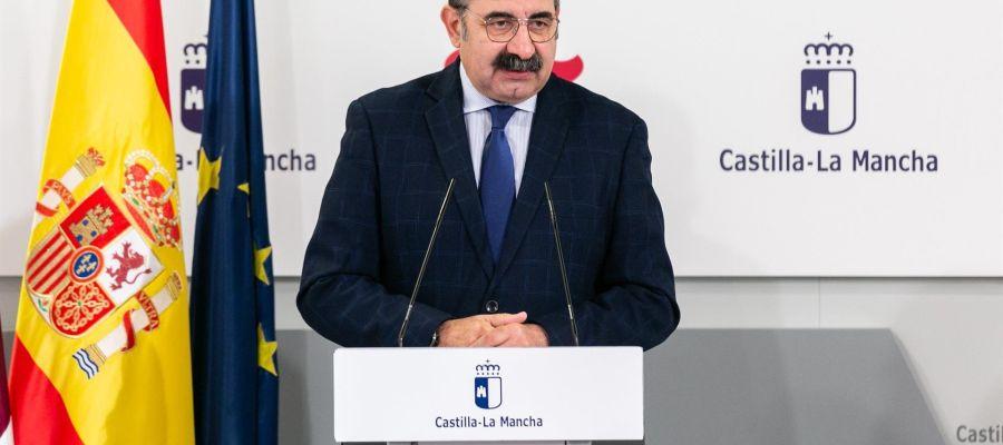 Jesús Fernández Sanz, consejero de Sanidad de CLM