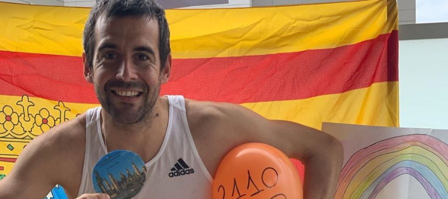 El atleta Agustín Moreno