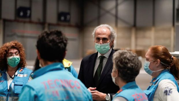 """Enrique Ruiz Escudero: """"La primera inflexión de tener menos casos positivos que el día anterior está muy cerca"""""""