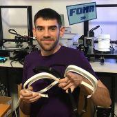Miquel Font es uno de los mallorquines con taller 3D que ayuda a fabricar material sanitario para combatir la pandemia del coronavirus.