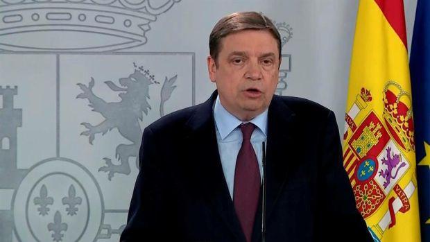 Luis Planas explica el decreto del Gobierno para asegurar jornaleros que hagan recogidas de cosechas