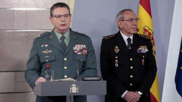 Dimite el 'número dos' de la Guardia Civil tras el cese de Pérez de los Cobos