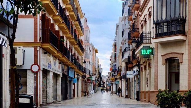 Calles del centro de Huelva