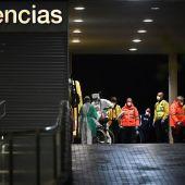 Vista general del exterior de las Urgencias del hospital Príncipe de Asturias de Alcalá de Henares