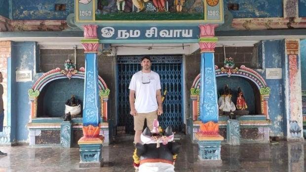 Daniel Arriazu: un navarro confinado en la India