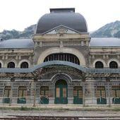 La estación de tren de Canfranc