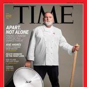 José Andrés, portada de la revista 'Time'