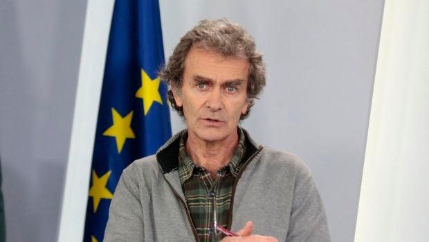 Fernando Simón, durante una comparecencia