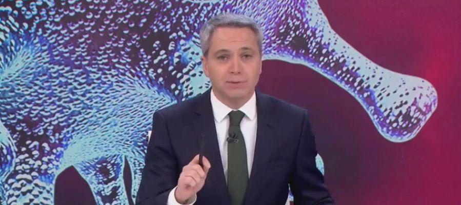 Vicente Valles en el 'Especial coronavirus' en Antena 3