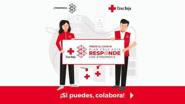 ATRESMEDIA se une a Cruz Roja frente al coronavirus
