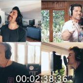 Fragmento del vídeo con la nueva versión de Resistiré