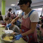 Comedor escolar en Ourense
