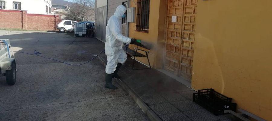 La Diputación continúa con las labores de desinfección en Residencias de Mayores de la provincia