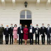 El nuevo gobierno de Eslovaquia, tras su toma de posesión a finales de marzo de 2020