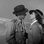 Fotograma de la película 'Casablanca', con Humphrey Bogart e Ingrid Bergman