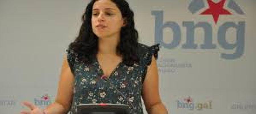 Noa Presas, parlamentaria do BNG
