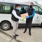 El Ayuntamiento ha comenzado a repartir hoy 10.000 mascarillas