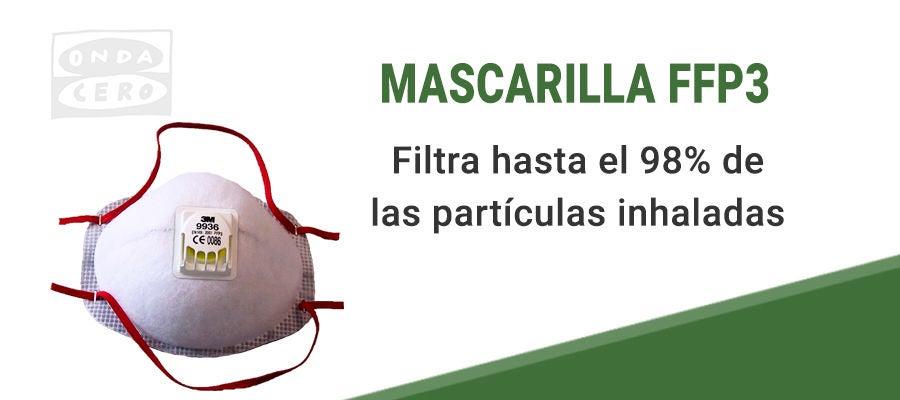 Mascarillas FFP3