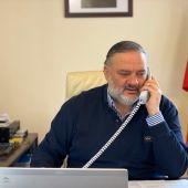 Pablo Garcia, Delegado de la Junta de Andalucia