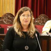 La Consellera de Salut, Patricia Gómez, en su comparecencia en el Parlament ante la crisis sanitaria internacional.
