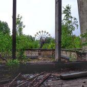 Fotografía de la ciudad de Prípiat, en la zona de exclusión de Chernobyl