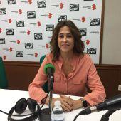 Rosa Romero, en una anterior entrevista en los estudios de Onda Cero Ciudad Real