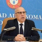 Javier Guerrero, Cosejero de Sanidad de Ceuta.
