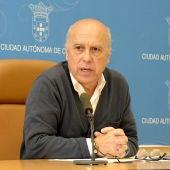 Javier Guerrero, consejero de Sanidad de la Ciudad Autónoma de Ceuta.