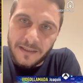 Joaquín, en un momento de la entrevista en El Hormiguero.