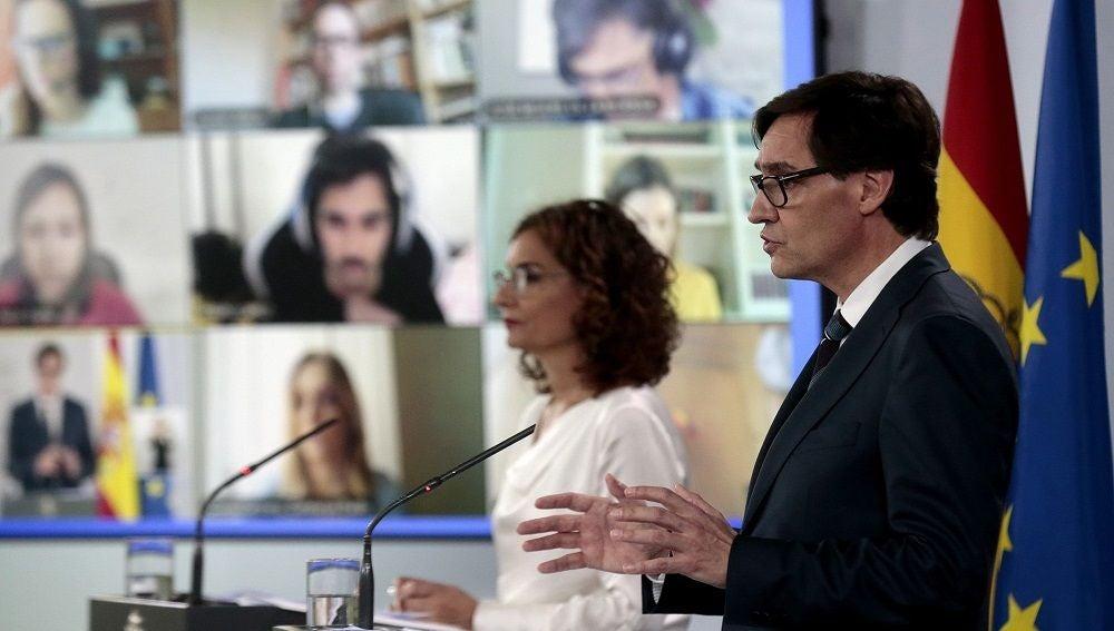 Imagen de Salvador Illa, ministro de Sanidad