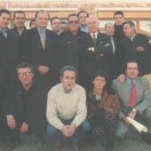 Periodistas de Cuenca, muchos de ellos de la radio como Pepe Monreal o José Luis Muñoz