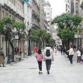 Primera salida en Ourense de niños
