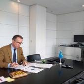 Pablo Fernández, consejero de Salud de Asturias