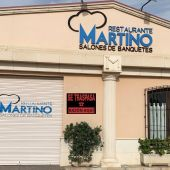 El restaurante Martino, una de las múltiples empresas hosteleras de Elche que se ha sumado a esta iniciativa.