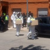 La Policía Nacional practica un registro en Bolaños de Calatrava (Ciudad Real)