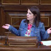 """Adriana Lastra, a la bancada del PP: """"¿Me estás amenazando, Echániz?"""""""