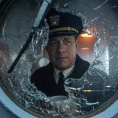 El actor Tom Hanks, en una imagen promocional de la película 'Greyhound'