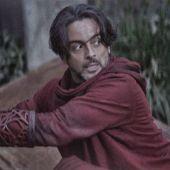 El actor español Bernard Bullen, en una escena de la serie 'The Mandalorian'