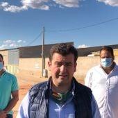 Ricardo Chamorro ha visitado Bolaños de Calatrava tras la operación policial