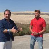 Rafael Mateos y Antonio Saldaña