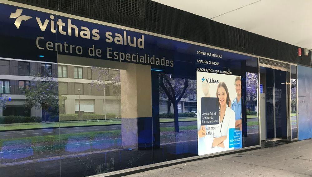 Imagen del centro de especialidades Vithas Salud ubicado en San Bernardo