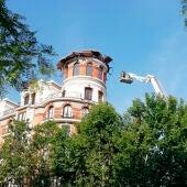Colapso de cúpula en la calle Alfonso XII de Madrid