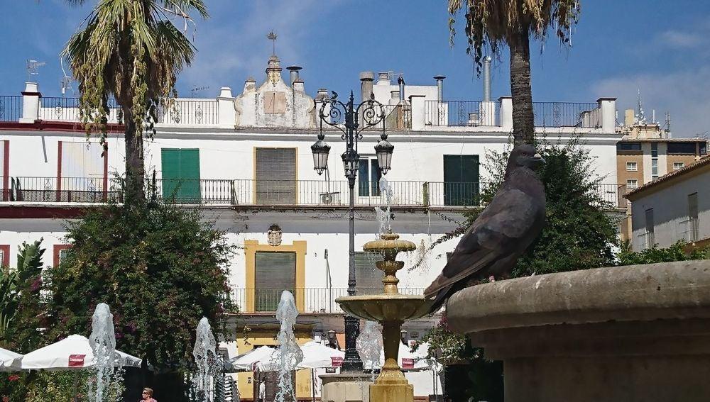 Plaza del Cabildo en Sanlúcar