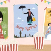 Rena Ortega y su ilustracion sobre el cine
