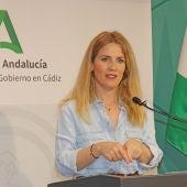 Ana Mestre, delegada del Gobierno de la Junta en Cádiz