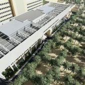 Simulación del nuevo bloque quirúrgico del Hospital General de Elche.