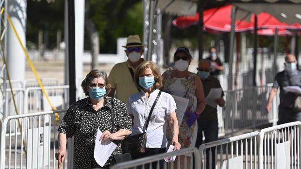 Test de coronavirus en Torrejón
