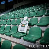 El Elche CF prepara su campaña de abonos para el regreso a Primera y le gustaría tener abierto el estadio Martínez Valero con motivo de la visita del Real Madrid.