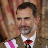 Imagen de archivo del rey Felipe VI