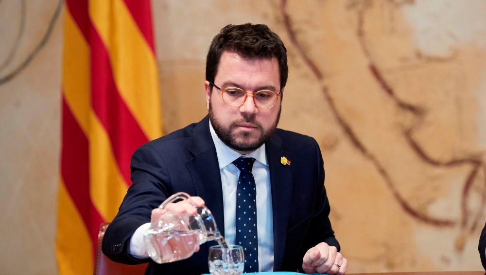 Imagen de archivo de Pere Aragonés
